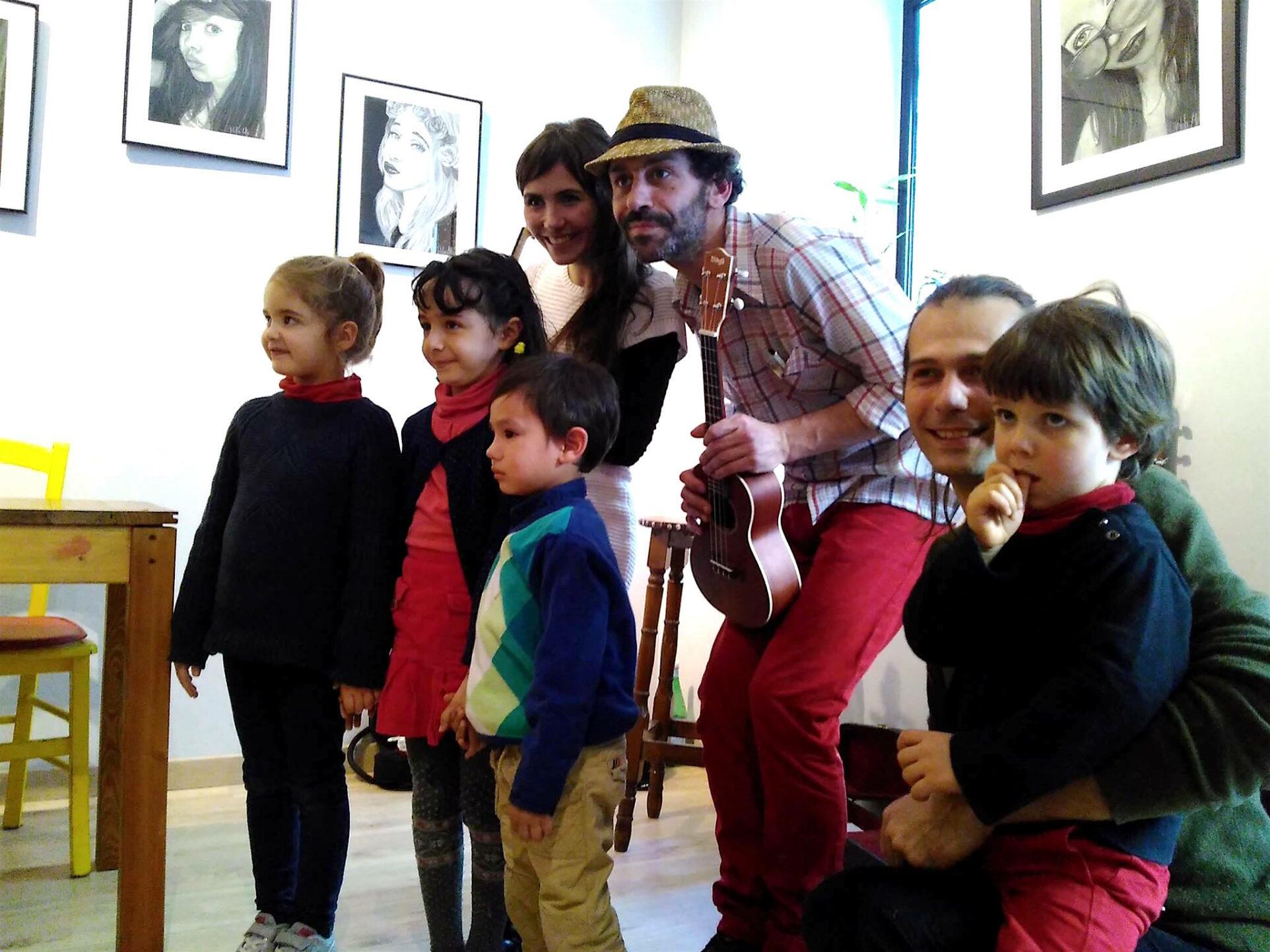 FANCH & Viviane Hélary - chansons d'hier pour enfants d'aujourd'hui, Chez Pauline